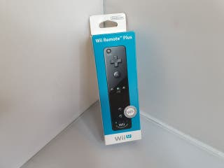 Wii Remote Plus - Negro - Nintendo Wii U