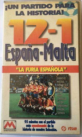 EL 12-1 DEL ESPAÑA-MALTA 1983