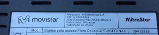 Router smart wifi y decodificador Movistar