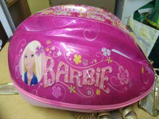 Casco bicicleta Barbie