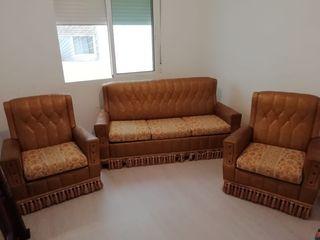 conjunto de sofas vintage