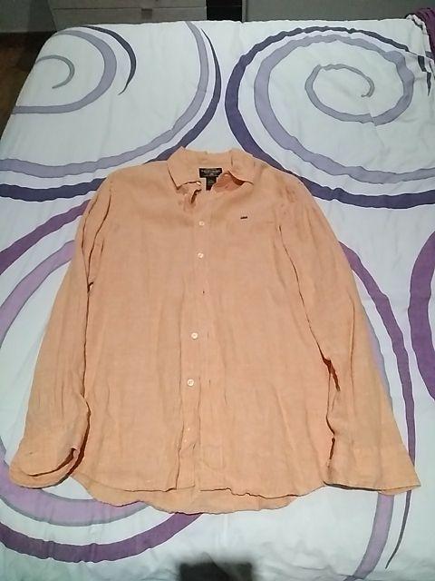camisa lino Ralph lauder