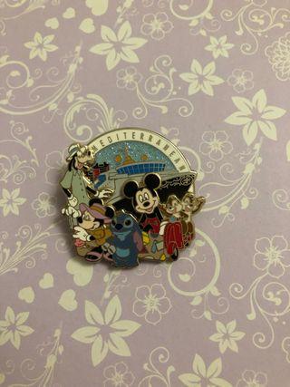 Disney Mediterranean cruiseline pin