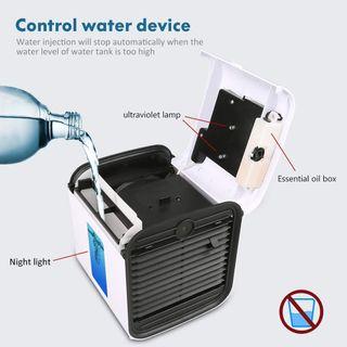 Mini refrigerador de aire USB
