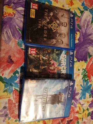 the order, farcry 4 y star wars battlefront ps4