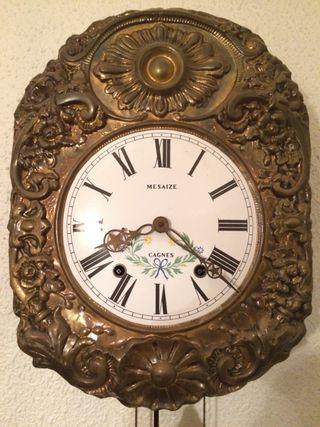 Reloj de pared antiguo Cagnes Mesaize