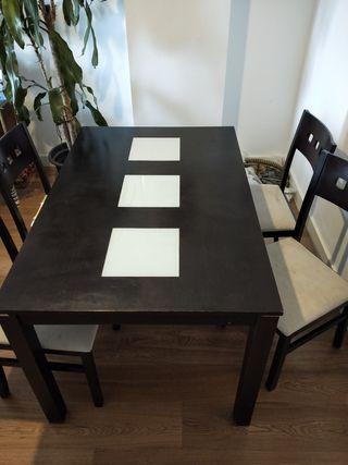 mesa comedor extendible