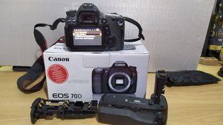 Canon Eos 70D + objetivo 17-85