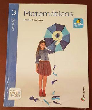 Libros Matemáticas 3 Primaria, 9788468012865 NUEVO