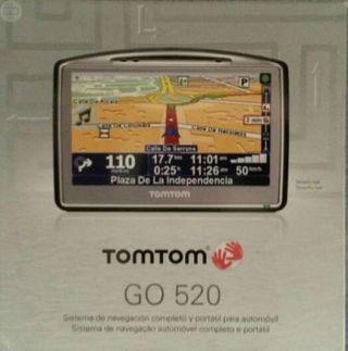 Navegador GPS TOMTOM GO 520