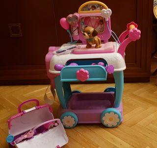 Carrito y maletín de médico de la Doctora juguetes