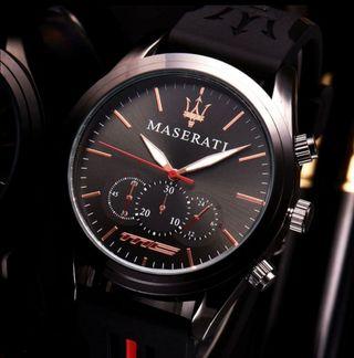 reloj de lujo maserati
