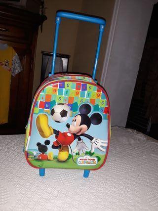 maleta carro de Michey