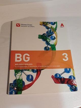 libro de 3*ESO de Biologia y Geologia