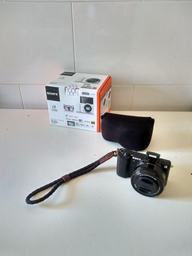 Vendo Sony A5100 + SEL 16-50 f3.5-5.6 PZ en Camaras y Objetivosi1030807797