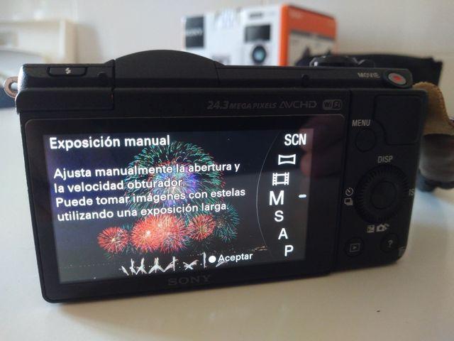 Vendo Sony A5100 + SEL 16-50 f3.5-5.6 PZ en Camaras y Objetivosi1030815008