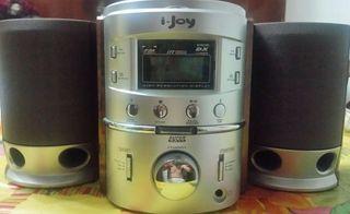 MINI CADENA CD + RADIO I-JOY