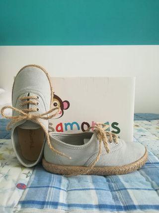 Zapatos alpargatas niño vestir comunion boda