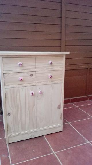 mueble nuevo pino macizo