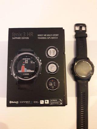 Reloj Garmin Fénix 3 HR Sapphire Edition