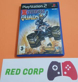 PS2 XTREME QUADS
