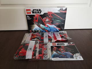 Lego Star Wars 75240 sin figuras.