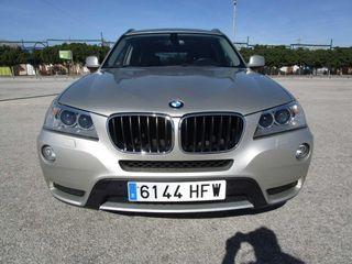 BMW X3 2.0 XDRIVE TAPICERÍA DE PIEL TECHO SOLAR 4X4