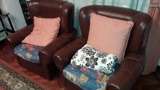conjunto sofas clásicos