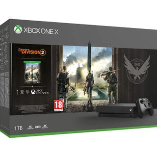 XBOX ONE X 1TB - PACK THE DIVISION 2 - NUEVAS