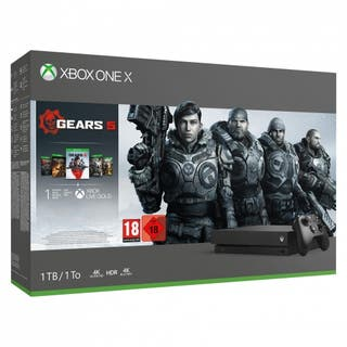 XBOX ONE X 1TB - PACK GEARS FAMILY - NUEVAS