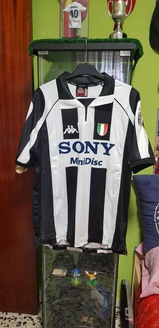 Camiseta Zidane Juventus 1998