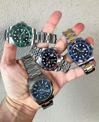 QUIERO RELOJ ROLEX SUBMARINER GMT DAYTONA ETC...