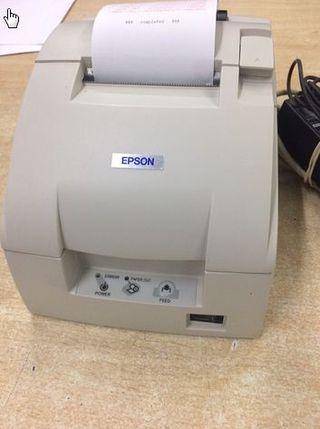 Impresora tickets matricial EPSON