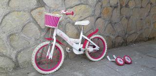 Bicleta de niña hasta 6 años