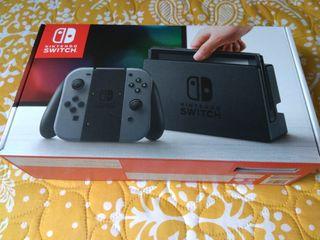 Nintendo switch primera versión 2017