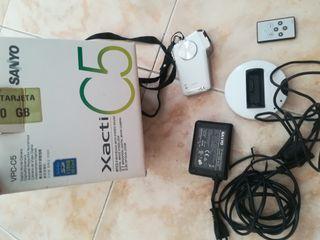 cámara de video y foto