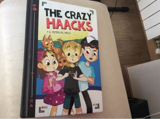 3 libros the crazy haacks ( 1 firmado )
