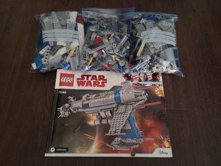 Lego Star Wars 75188 sin figuras
