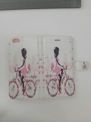 Funda libro Iphone 6S plus