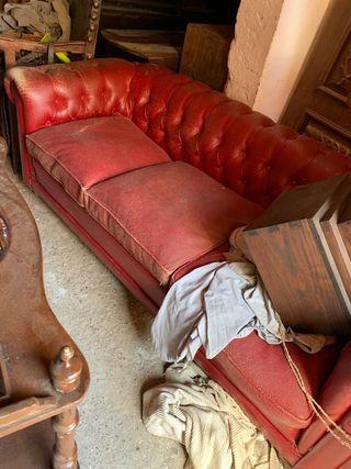 Cojunto Sofa 3 + 1 Vintage