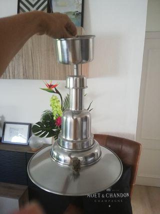 lámpara techo metal industrial farola