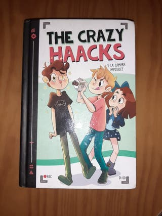 Libro The Crazy Haacks y la Cámara Imposible