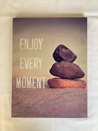 "Cuadro ""Enjoy every moment"""
