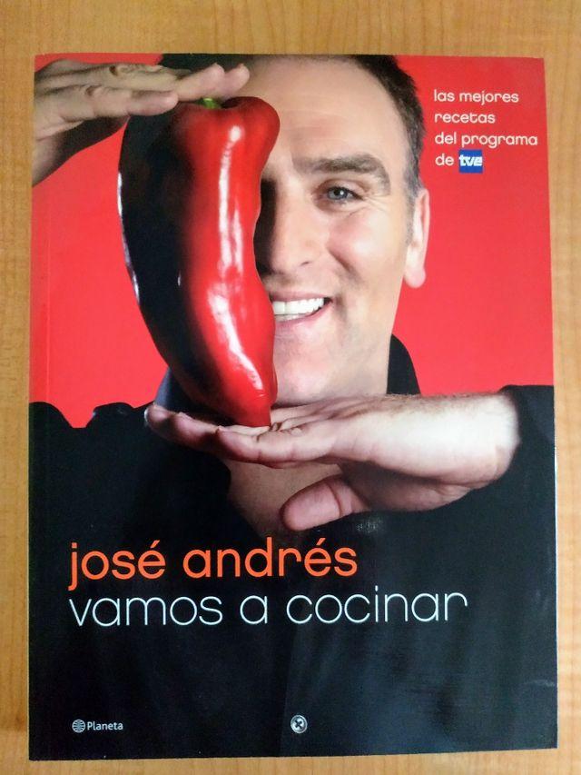 Libro Recetas José Andrés Vamos A Cocinar De Segunda Mano