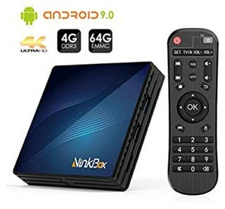 smart tv box 4/64gb nuevo