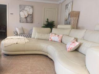 Sofa de piel italiana