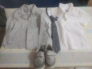Conjunto de niño 4 prendas talla 2-3 años