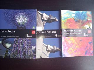libros de texto SM Secundaria