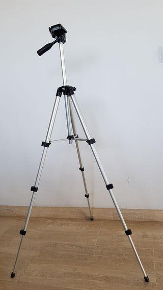 Trípode fotografia mediano y ligero
