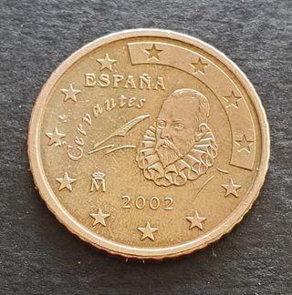 50 céntimos 2002 de España